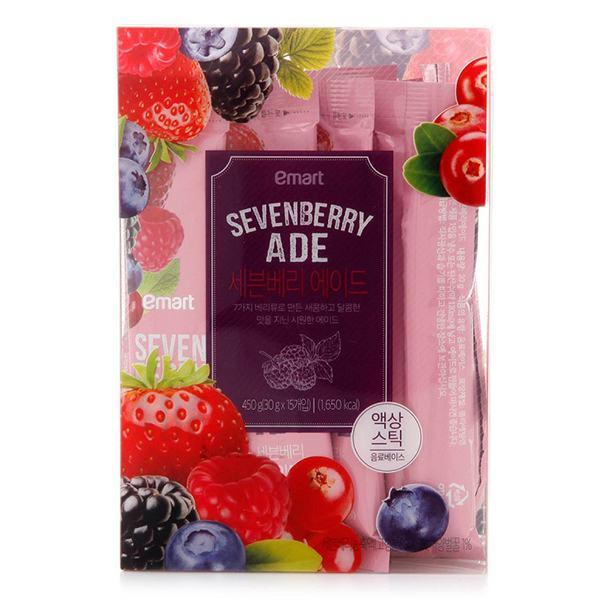Nước Ép Trái Cây Sevenberry Emart 30G*15Gói