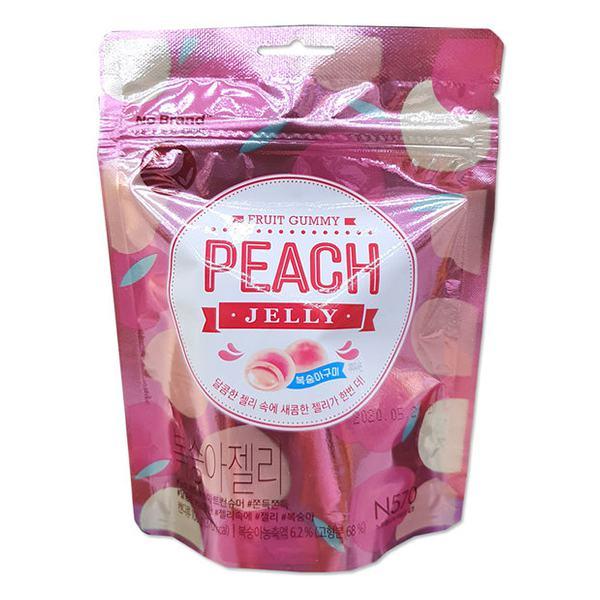 Kẹo Dẻo Jelly Vị Đào No Brand 100G