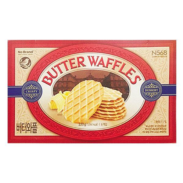 Bánh Kẹp Bơ Butter Waffles No Brand 220G
