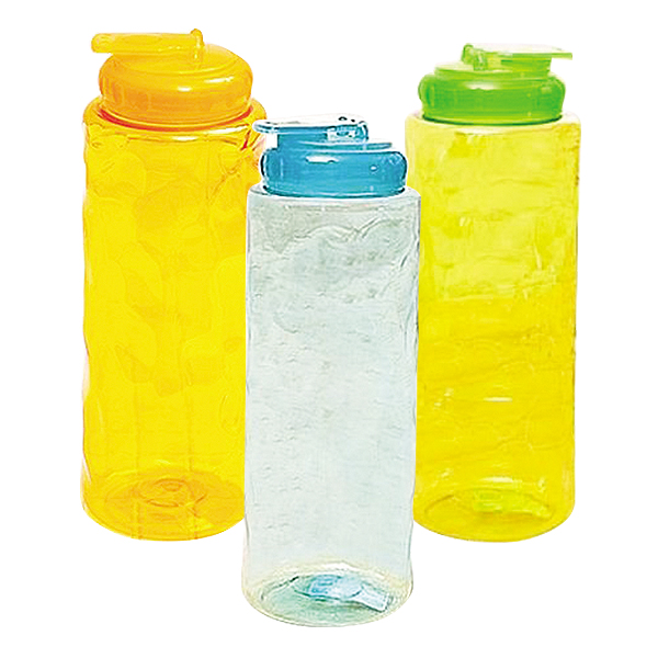 Bình Nước Nhựa 1.2L - Cam