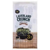 Rong Biển Laverland Crunch Vị Tương Ngọt Gói 4.5G*3