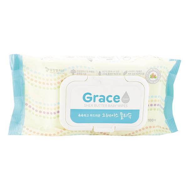 Khăn Ướt Hàn Quốc Grace 100 Tờ