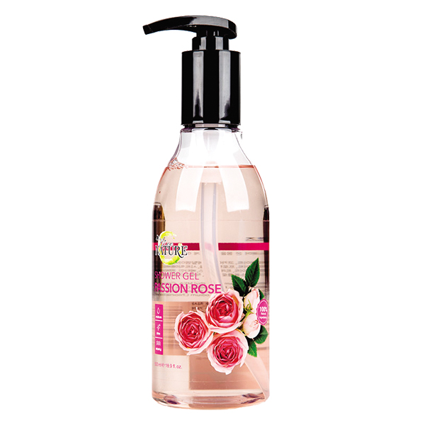 Sữa Tắm Mee Nature Passion Rose 500Ml
