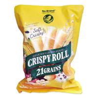 Bánh Ngũ Cốc Crispy Roll 21 Loại Hạt No Brand Gói 220G