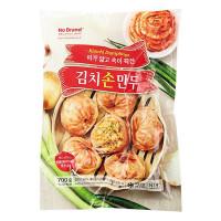 (Hạn sử dụng 25.11.2021) Bánh Xếp No Brand Nhân Thịt & Kim Chi Gói 700G