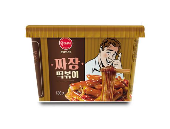 Bánh Gạo Toppoki Sốt Tương Đen Jajang Otaste 128G