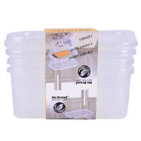 Bộ 3 Hộp Nhựa No Brand 17.6*11.7*7.05Cm