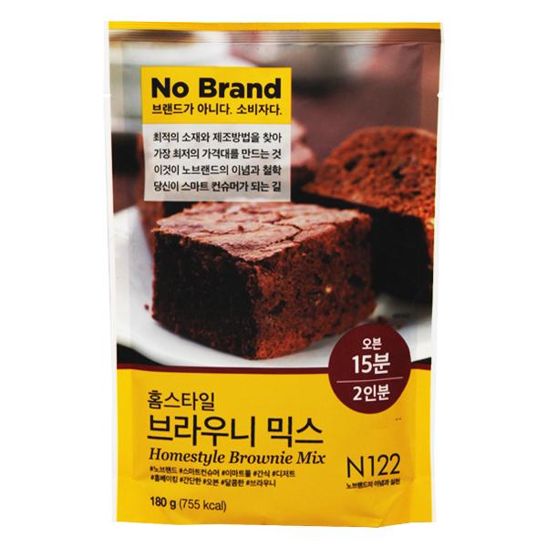 Bột Làm Bánh Brownie No Brand 180G