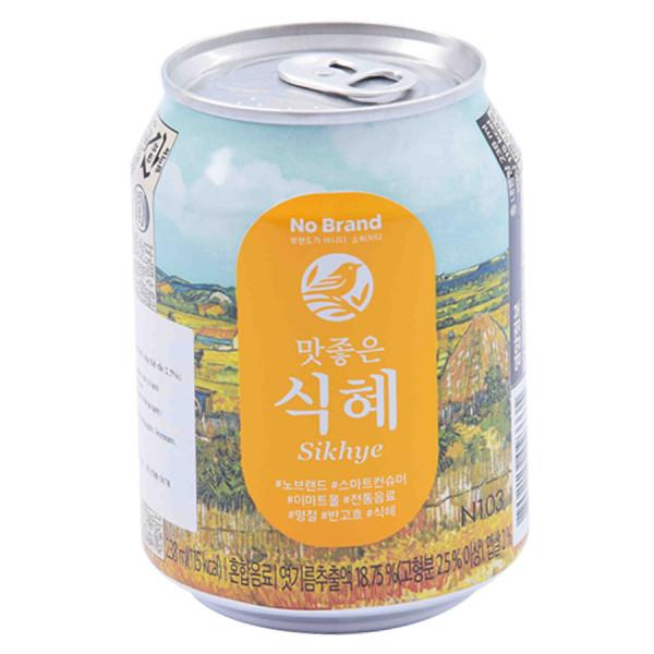 Nước Gạo Sikhye No Brand 238Ml