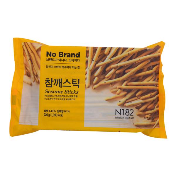 Bánh Que Tẩm Mè No Brand Gói 220G