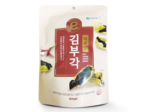 Snack Rong Biển Emart Cay 30G