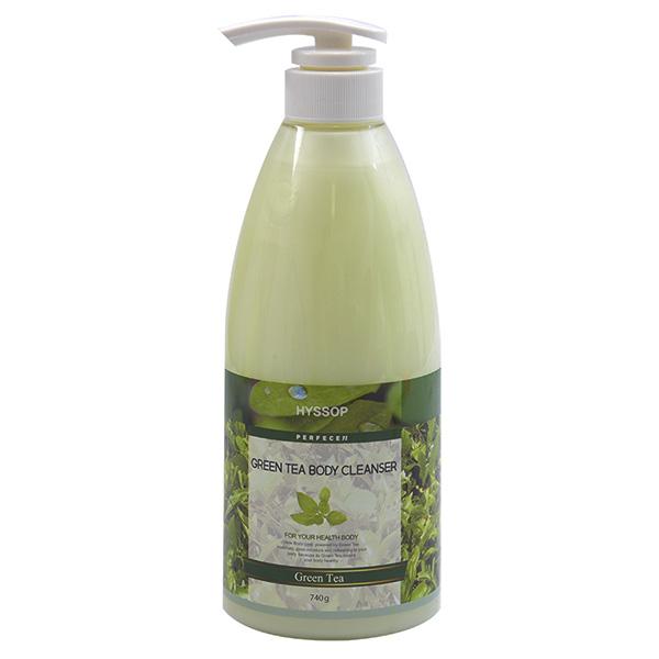 Sữa tắm Hyssop Greentea 740gr