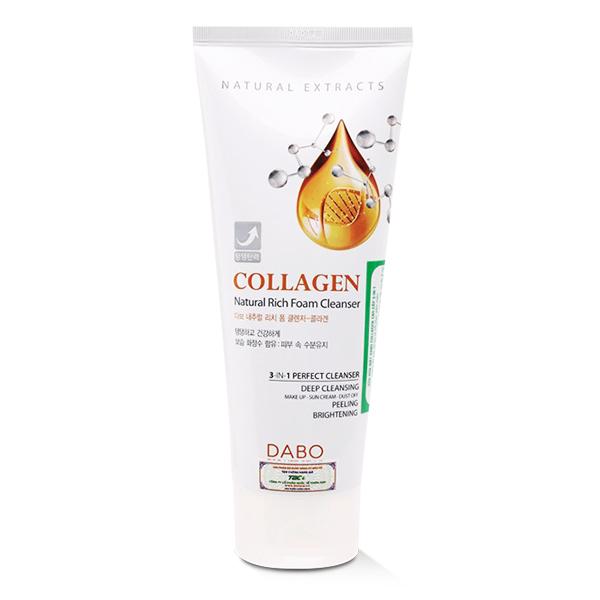 Sữa Rửa Mặt Dabo 3in1 Collagen 180Ml