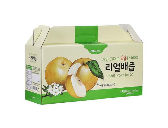 Nước Ép Lê Hàn Quốc Nguyên Chất 30 Gói*80G