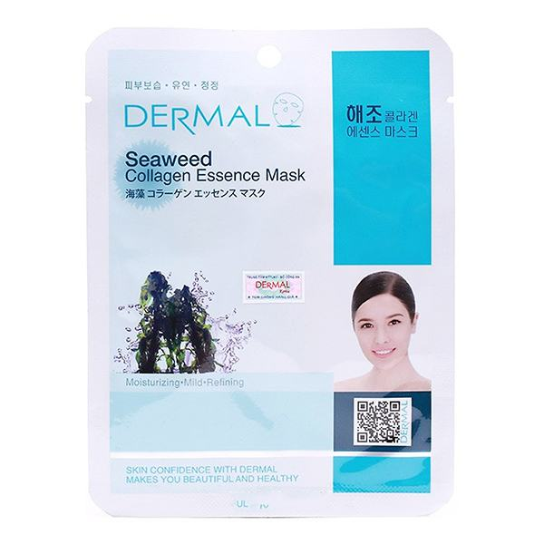 Mặt Nạ Dermal Chiết Xuất Collagen Và Rong Biển 23G
