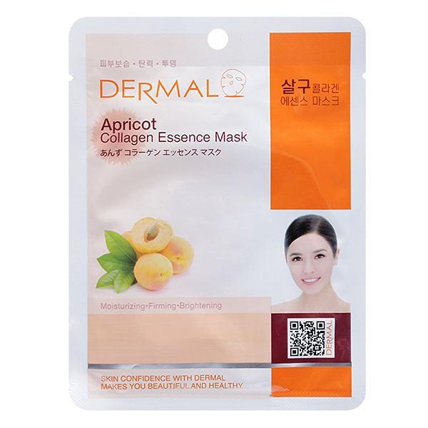 Mặt Nạ Dermal Chiết Xuất Collagen Và Mơ 23G