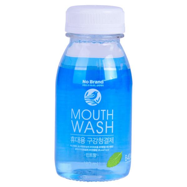 Nước Súc Miệng Mini Hương Bạc Hà No Brand 180Ml