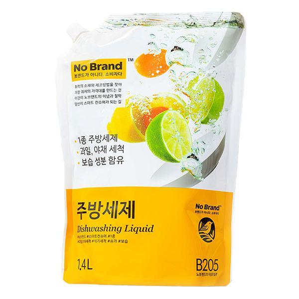 Nước Rửa Chén No Brand Túi 1.4L