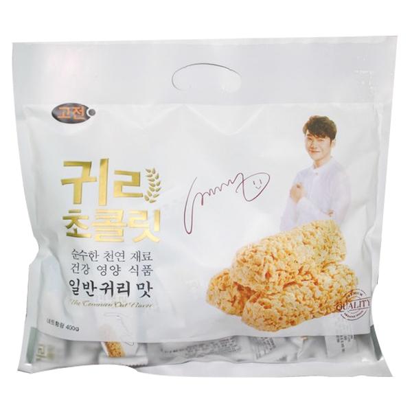 Bánh Xốp Lúa Mạch Socola Jinny-J 400G