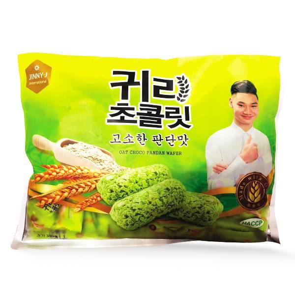 Bánh Xốp Lúa Mạch Dứa Jinny-J 380G