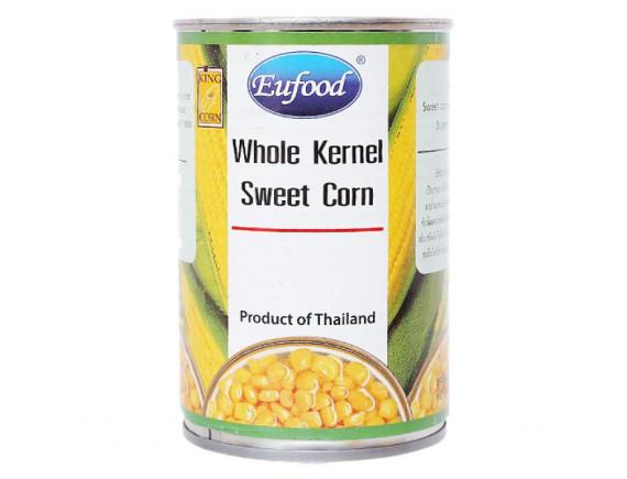 Bắp Ngọt Nguyên Hạt Eufood Lon 410G