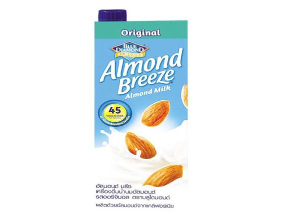 Sữa Hạnh Nhân Almond Breeze Nguyên Chất Hộp Giấy 946Ml