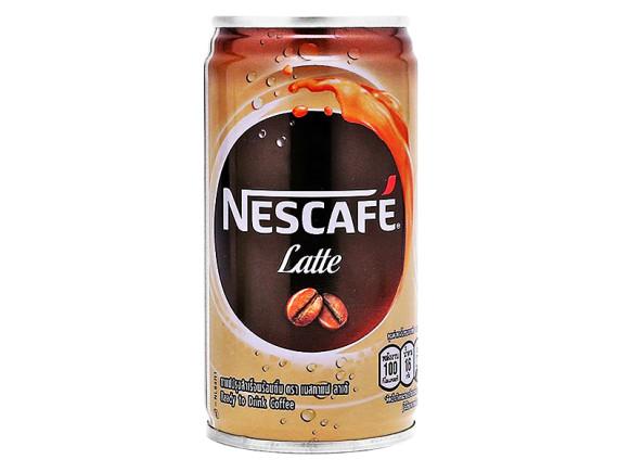 Cà phê Nescafe Latte Lon 180Ml