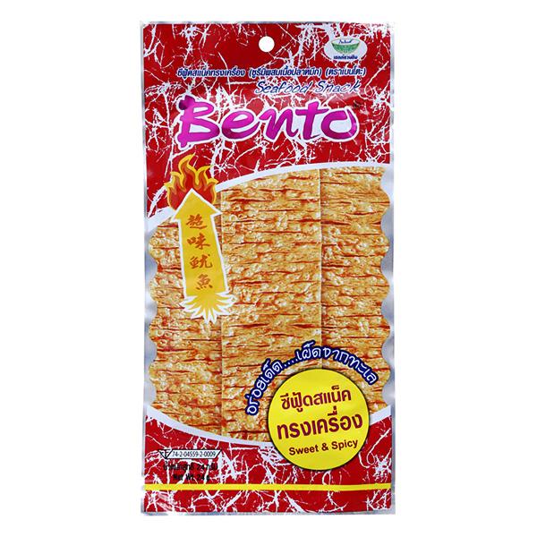 Snack Bento Mực Tẩm Cay Ngọt 24G