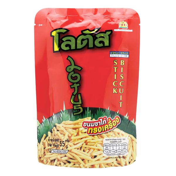 Bánh Que Thái Dorkbua Tôm Xông Khói 55G