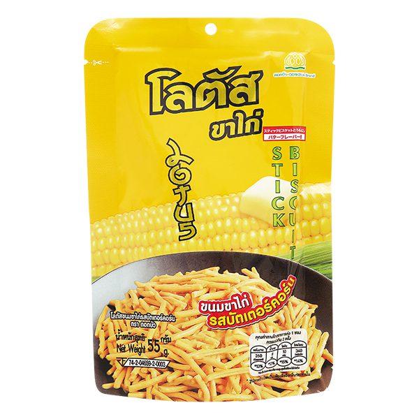 Bánh Que Thái Dorkbua Bắp Bơ 55G