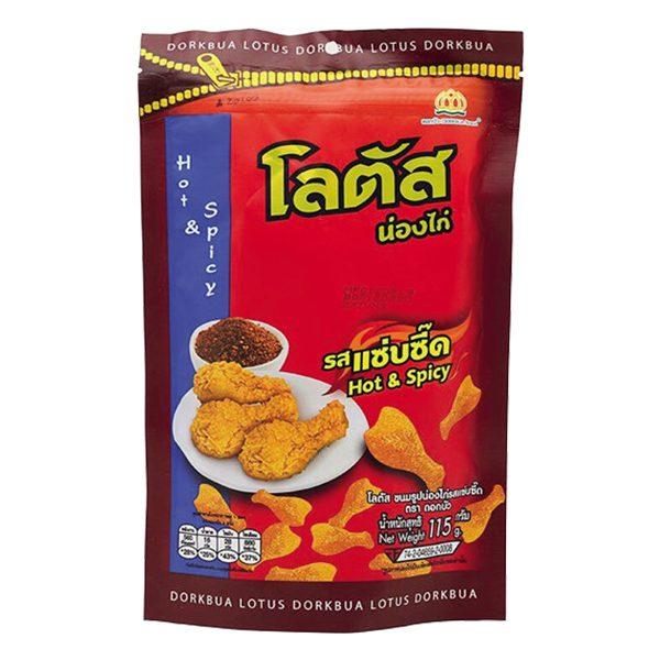 Bánh Que Thái Dorkbua Đùi Gà Vị Cay Gói 115G
