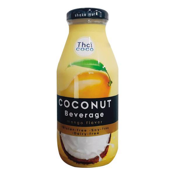 Nước Sữa Dừa Thái Coco Hương Xoài Chai 280Ml
