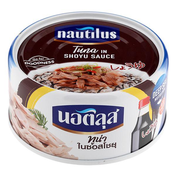 Cá Ngừ Nautilus Sốt Nước Tương Nhật 165G