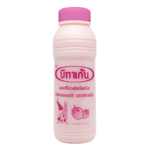 Sữa Chua Uống Men Sống Betagen Dâu 300Ml