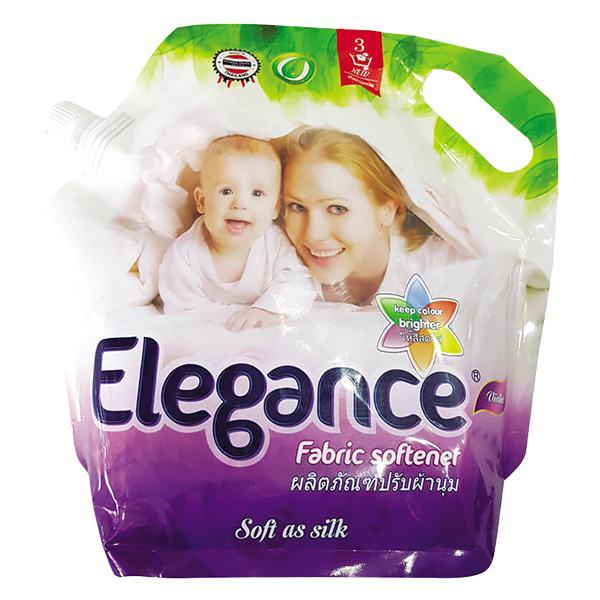 Nước Xả Vải Elegance Tím Túi 1.8L