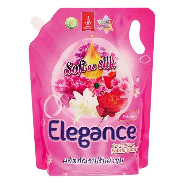 Nước Xả Vải Elegance Hương Pink Sweet Hồng Quyến Rũ Túi 1.8L