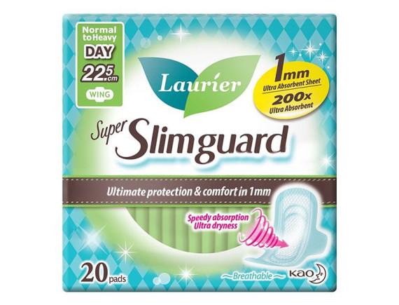 Băng Vệ Sinh Laurier Super Slimguard Siêu Mỏng 1Mm Gói 20 Miếng 22.5Cm
