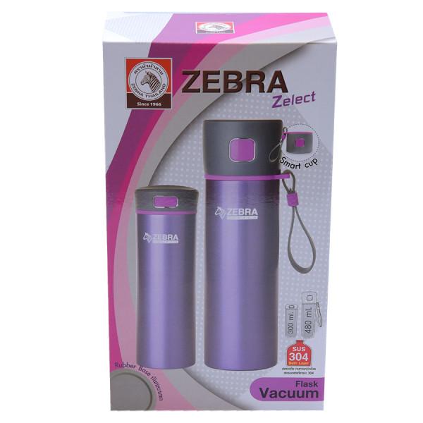 Bộ 2 bình giữ nhiệt Zebra 480ml & 300ml