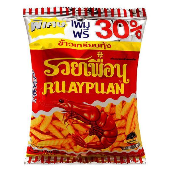 Snack Tôm Ruay Puan Gói 20G