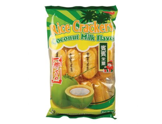 Bánh Gạo Bin Bin Dừa Bịch 150G