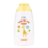 Sữa Tắm Gội Trẻ Em Oze Vitamin B5 Chai 180Ml