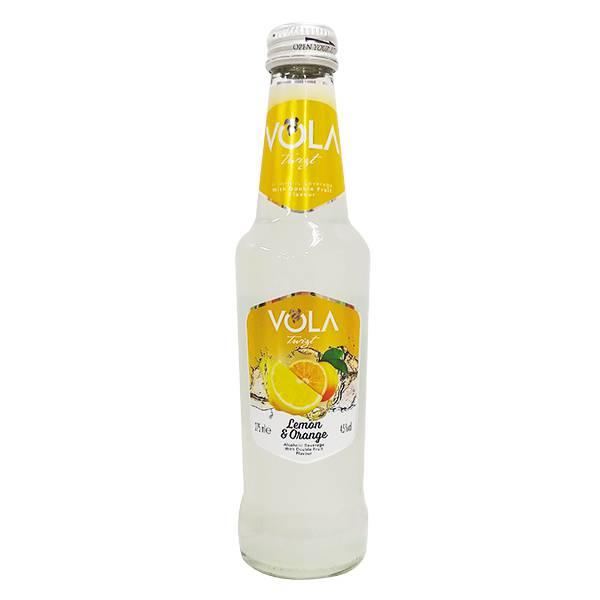 Nước Trái Cây Lên Men Vola Vị Lemon & Orange 275Ml
