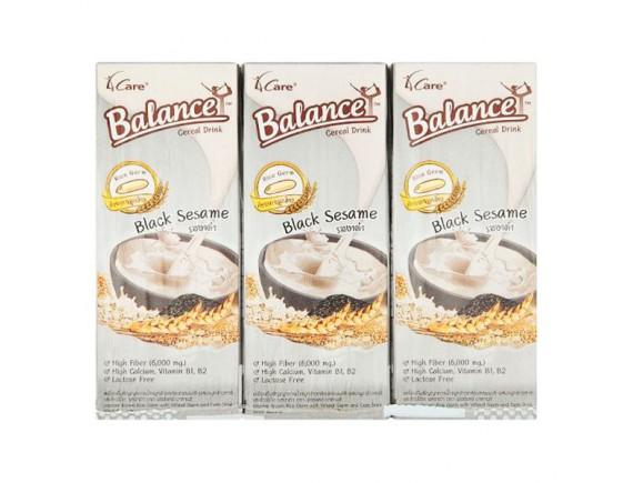 Lốc 3 Sữa Hạt Ngũ Cốc Mè Đen Balance Hộp 180Ml