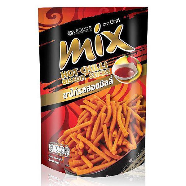 Bánh Que MIX Hương Vị Ớt Cay Gói 60G