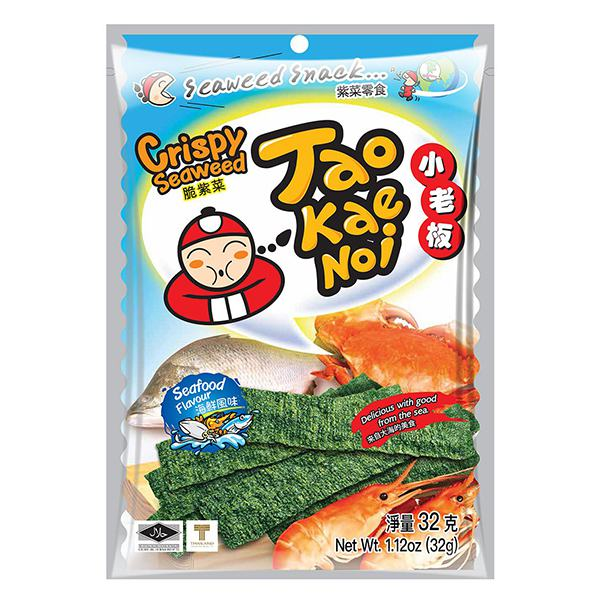 Snack Rong Biển Tao Kae Noi Vị Hải Sản Gói 32G