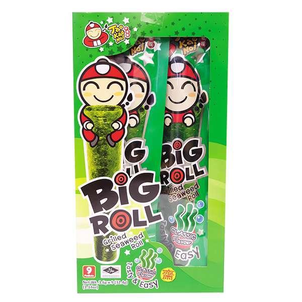 Snack Rong Biển Big Roll Tao Kae Noi Vị Truyền Thống 21.6G