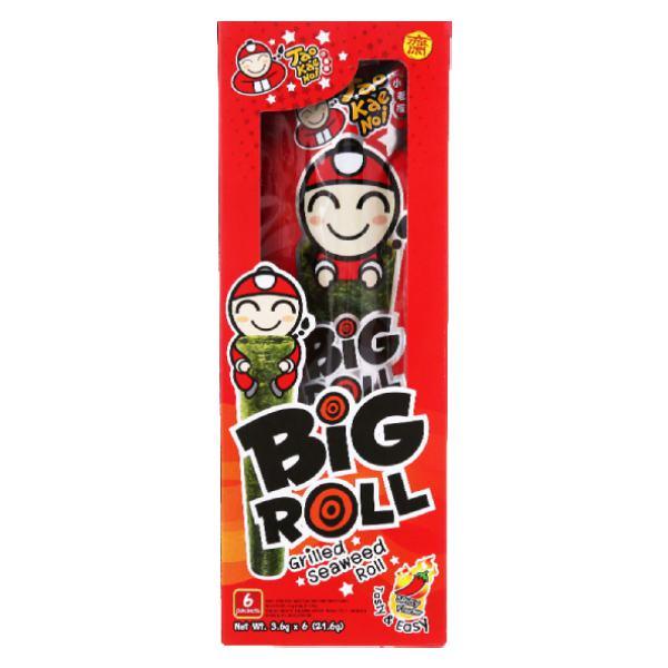 Snack Rong Biển Big Roll Tao Kae Noi Vị Cay 21.6G