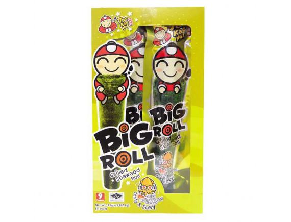 Snack Rong Biển Big Roll Tao Kae Noi Vị Mực 21.6G