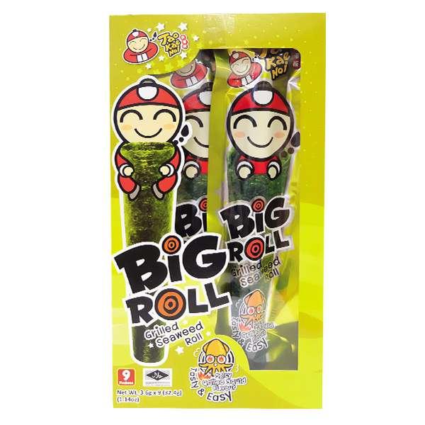 Snack Rong Biển Big Roll Mực 21.6G