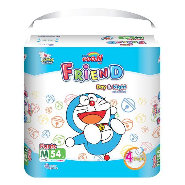 Tã Quần Goo.N Friend Super Jumbo M54